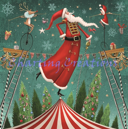 Santas On The Big Top